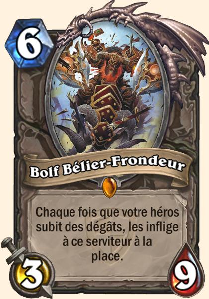Bolf Bélier-Frondeur carte Hearthstone
