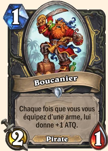 Boucanier carte Hearthstone