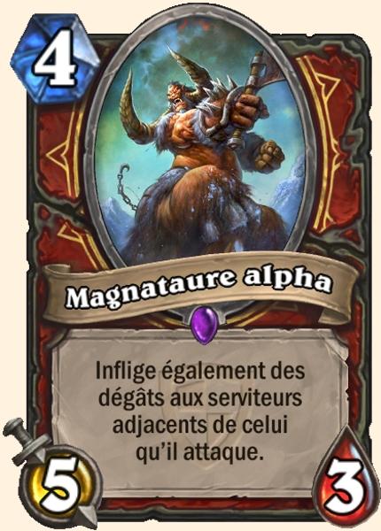 Magnataure alpha carte Hearthstone