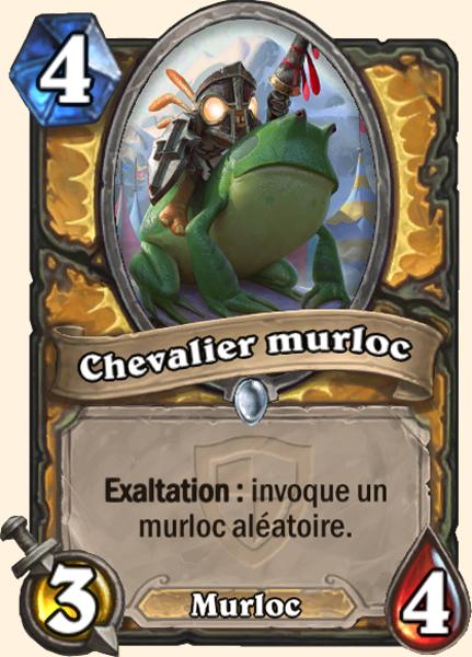 Chevalier murloc carte Hearthstone