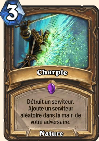 Charpie carte Hearthstone