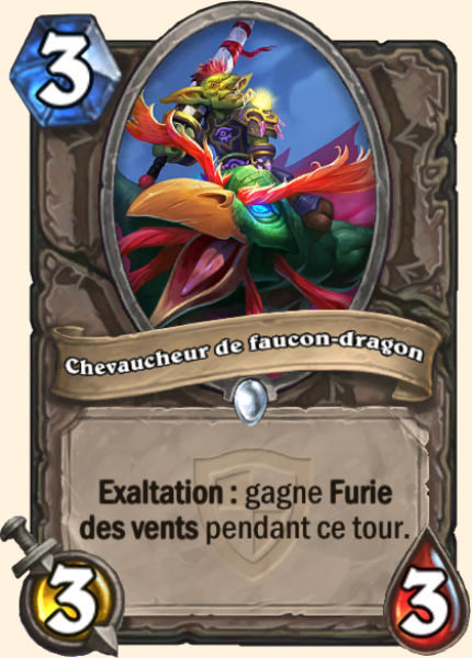 Chevaucheur de faucon-dragon carte Hearthstone
