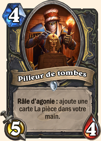 Pilleur de tombes carte Hearthstone