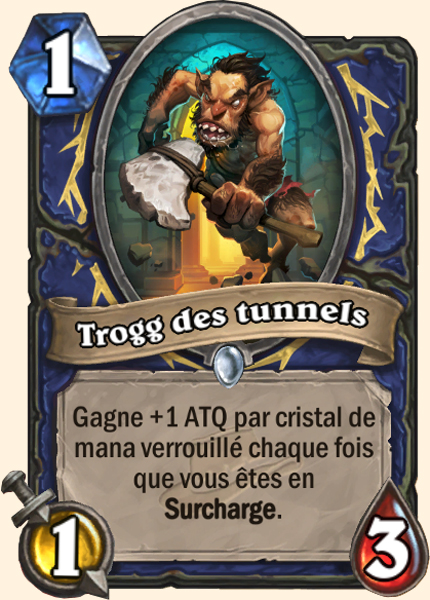 Trogg des tunnels - Carte Ligue des explorateurs Hearthstone