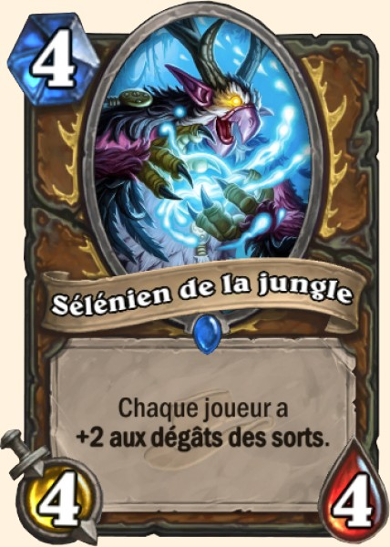 Sélénien de la jungle carte Hearthstone