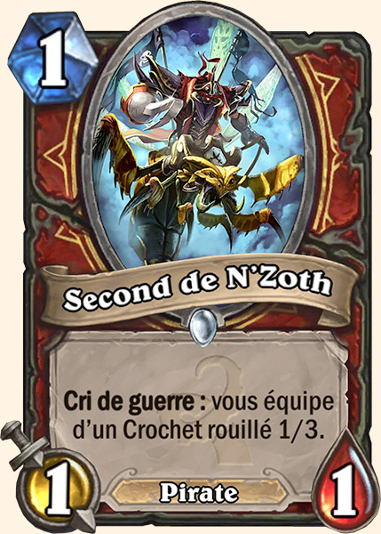 Second de N'Zoth carte Hearthstone