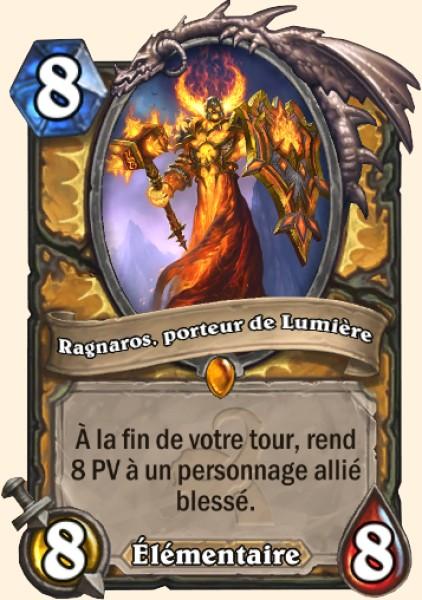 Ragnaros, porteur de Lumière carte Hearthstone