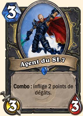 Agent du SI:7 - Carte Hearthstone