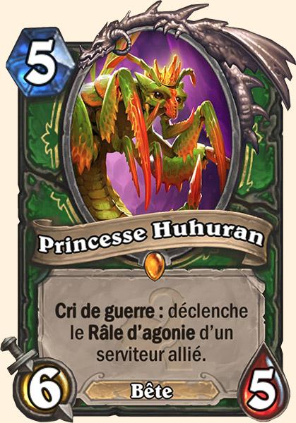Princesse Huhuran carte Hearthstone