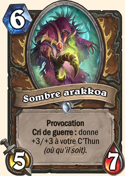 Sombre Arakkoa carte Hearthstone