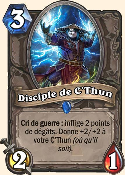 Disciple de C'thun carte Hearthstone