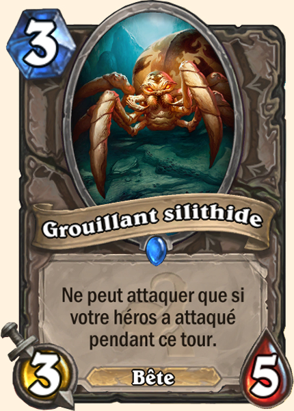 Grouillant silithide carte Hearthstone