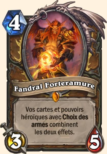 Fandral Forteramure carte Hearthstone