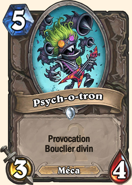 Psych-o-tron carte Hearthstone