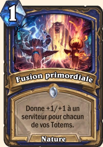 Fusion primordiale carte Hearthstone