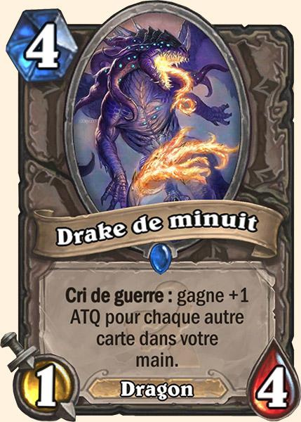 Drake de minuit carte Hearthstone