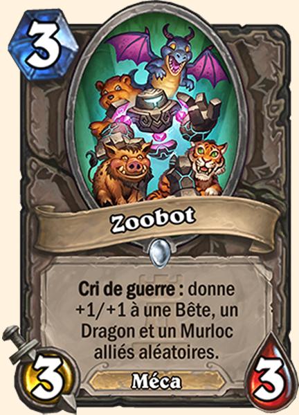 Zoobot carte Hearthstone