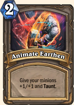 Animate Earthen Hearthstone