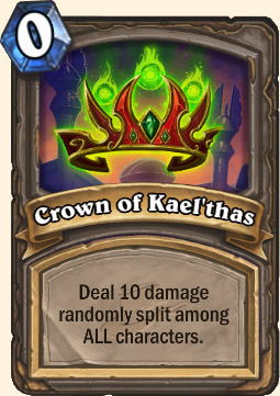 Crown Of Kael'Thas Hearthstone