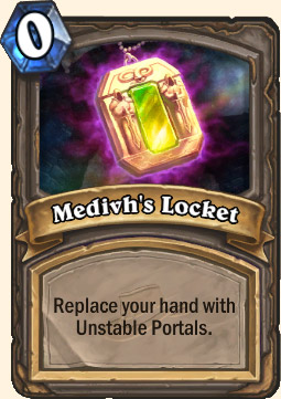 Medivh's Locket Hearthstone