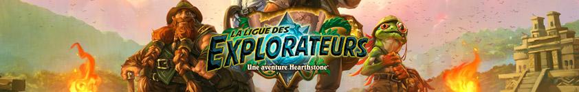 Ligue des explorateurs : Aventure Hearthstone