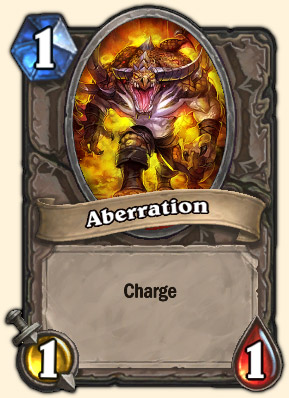 Aberration Carte Hearthstone Maloriak