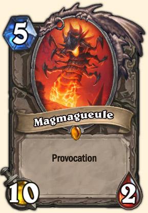 Magmagueule Carte Hearthstone Système de défense Omnitron