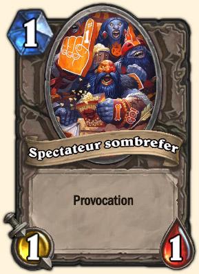 Spectateur sombrefer Carte Hearthstone Juge Supérieur Mornepierre
