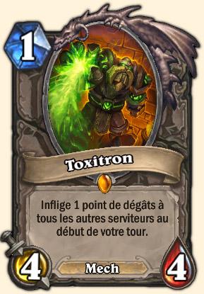 Toxitron Carte Hearthstone Système de défense Omnitron
