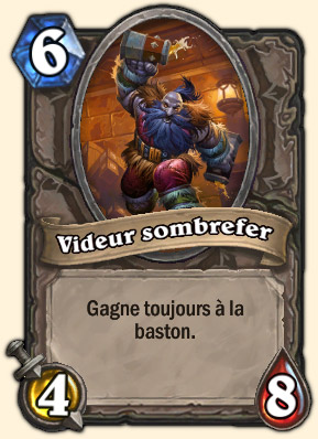 Videur sombrefer Carte Hearthstone Coren Navrebière