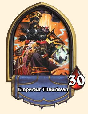 Portrait Empereur Thaurissan Hearthstone