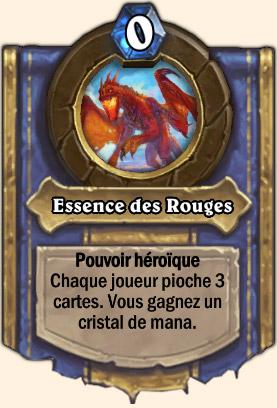Essence des Rouges - Pouvoir Mont Rochenoire Hearthstone Vaelastrasz le Corrompu