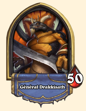 Portrait Général Drakkisath Hearthstone