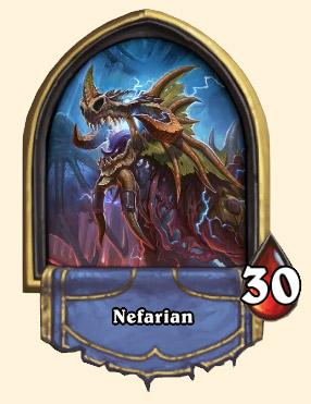 Portrait Nefarian Hearthstone