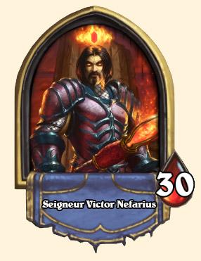 Portrait Seigneur Victor Nefarius Hearthstone