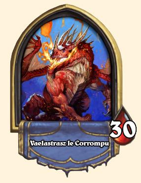 Portrait Vaelastrasz le Corrompu Hearthstone