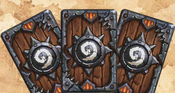 dos de carte unique pour l'achat du collector warlords of draenor