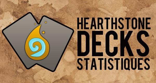 nouveaute : les statistiques des cartes sur hearthstone decks