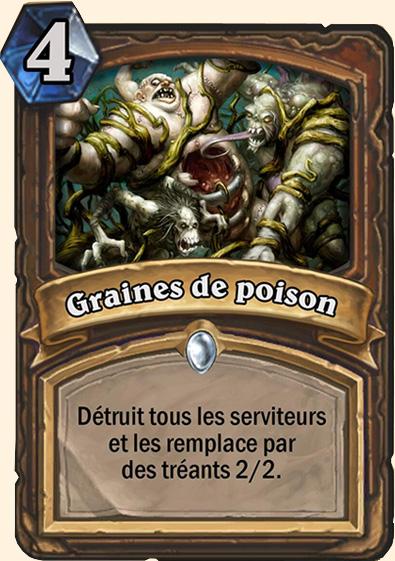 Graines de poison - Carte Hearthstone Naxxramas