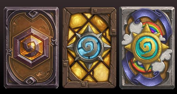 Dos de cartes Hearthstone