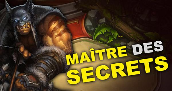 nouveau patch et deck chasseur maitre des secrets
