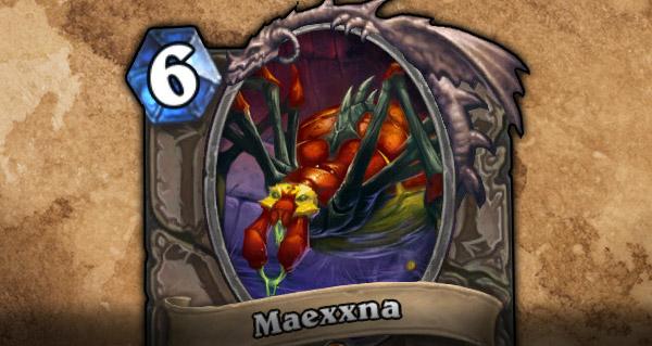 Maexxna Hearthstone