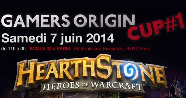 tournoi gamersorigin cup #1 le 7 juin a paris