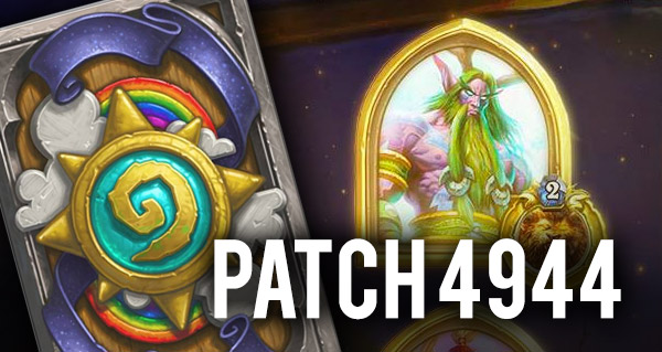 Hearthstone patch 4944