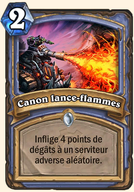 Canon lance-flammes