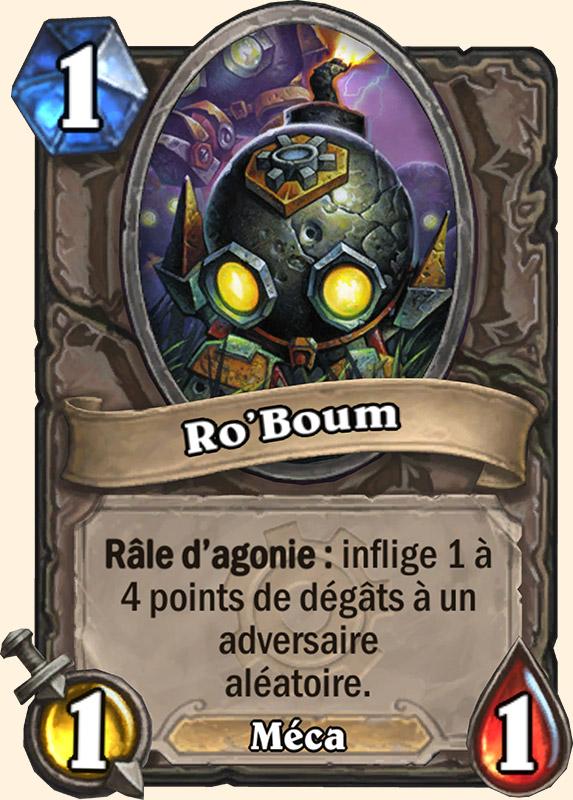 Ro'boum - Carte Gobelins & Gnomes Hearthstone