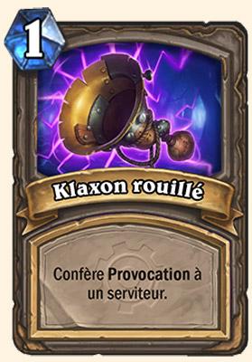 Klaxon Rouillé - Pièce détachée Hearthstone