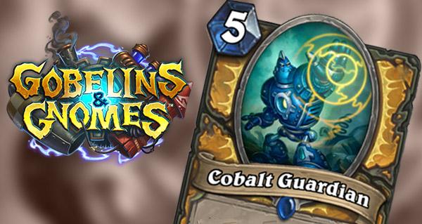 carte paladin gobelins et gnomes : cobalt guardian
