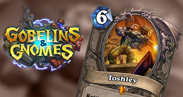 cartes gobelins et gnomes : toshley et mech-bear-cat