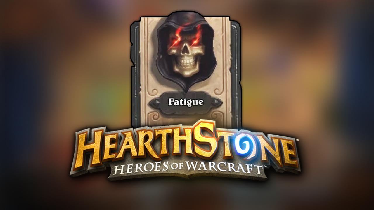 Fatigue Hearhstone